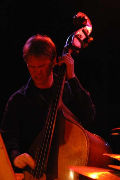 "Johannes Weidenmuller with ""David Berkman Quartet"" at Amr, Sud Des Alpes, Geneva, 2004"