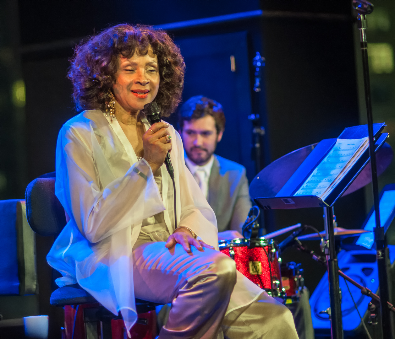 Mary Stallings and Kevin Kanner at Dizzy's Club