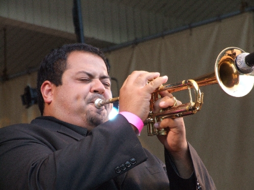 2006 Chicago Jazz Festival, Sunday: Tito Carrillo with Willie Pickens' Quintet
