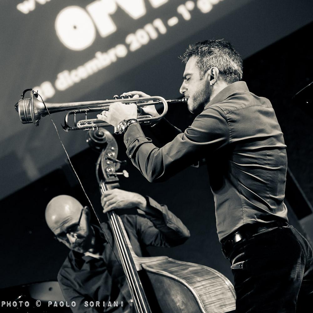 Paolo Fresu with Enzo Pietropaoli