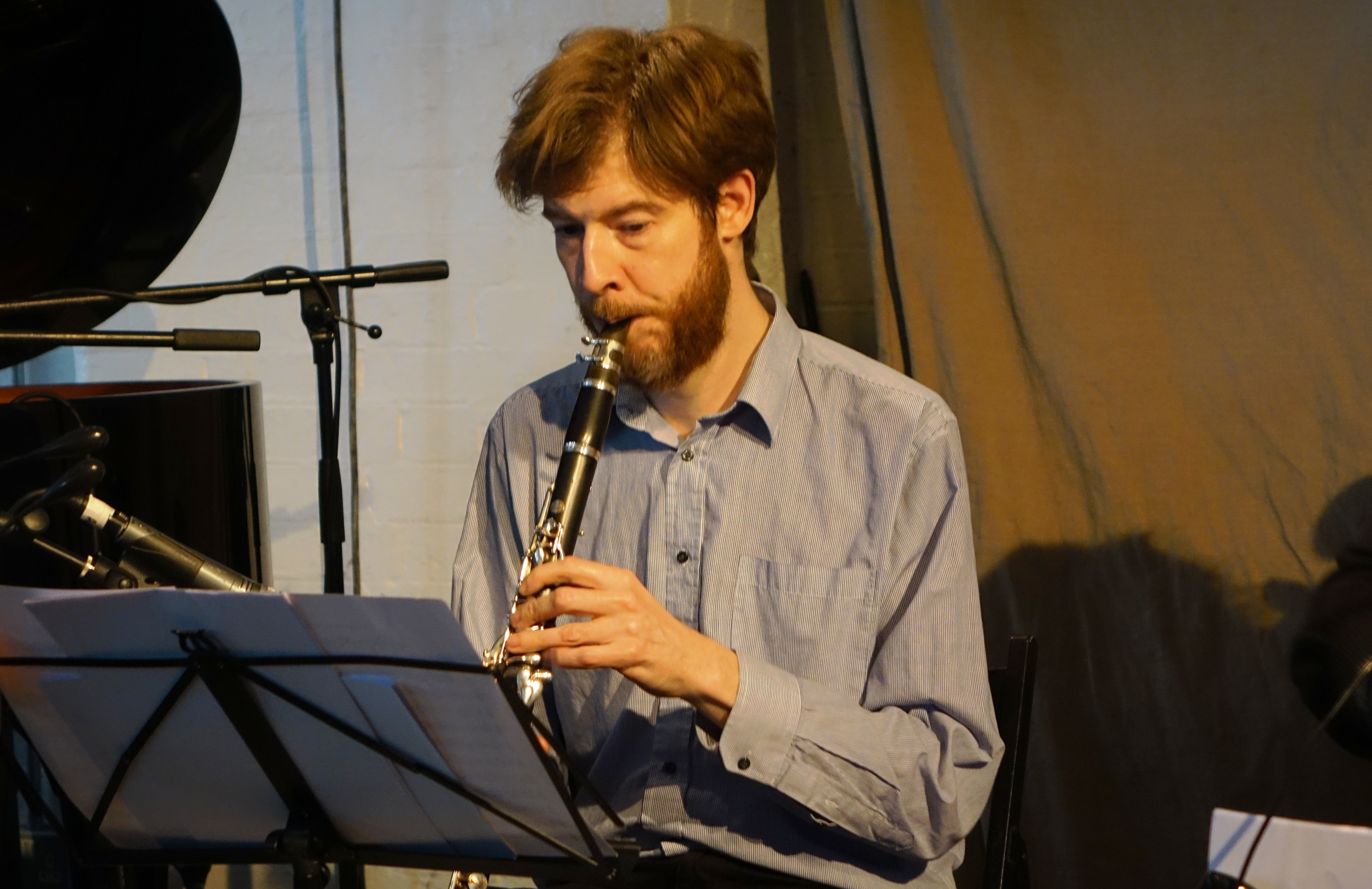 Alex Ward at Cafe Oto, London in April 2018