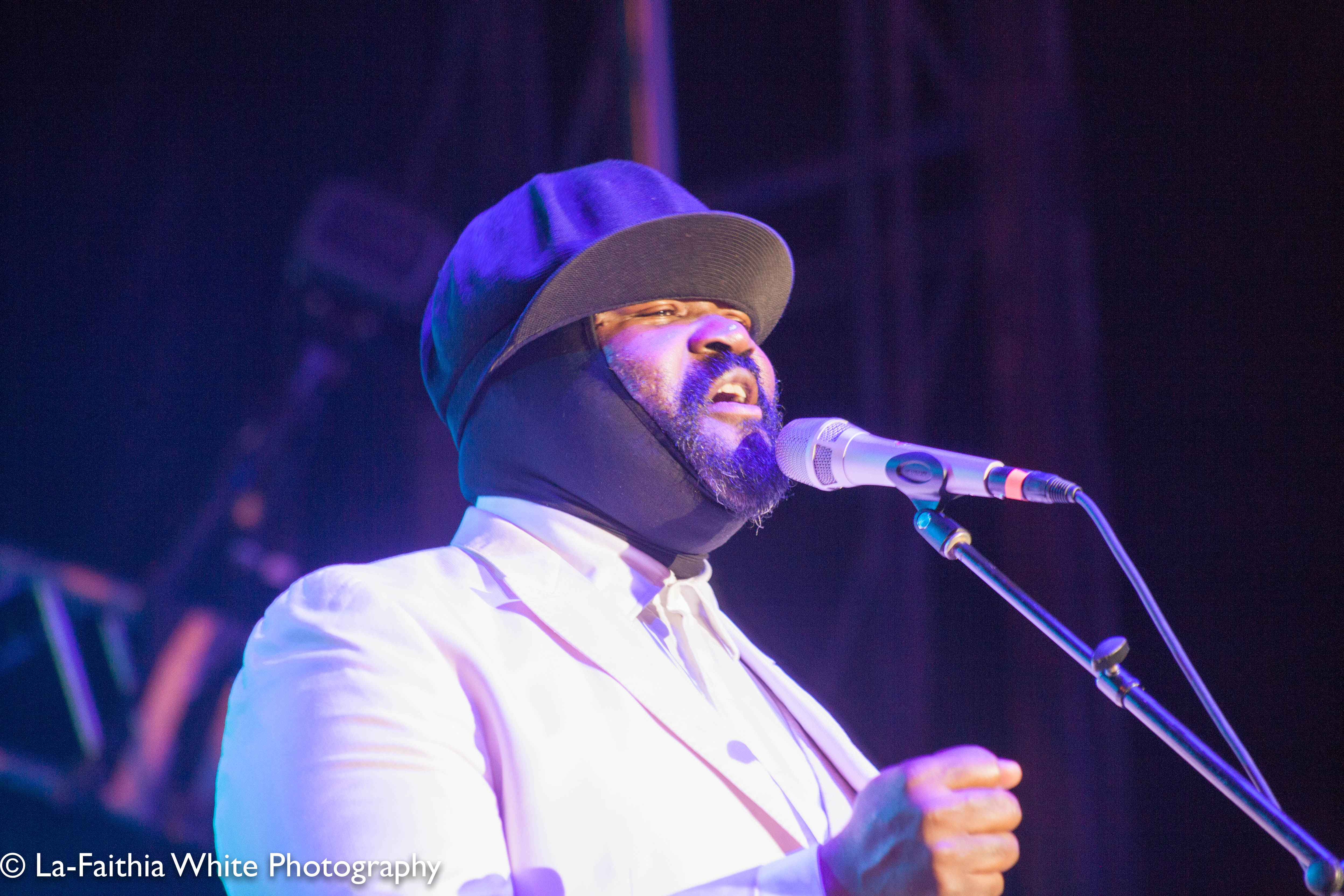 Gregory Porter At The 8th Annual John Coltrane International Jazz And Blues Festival