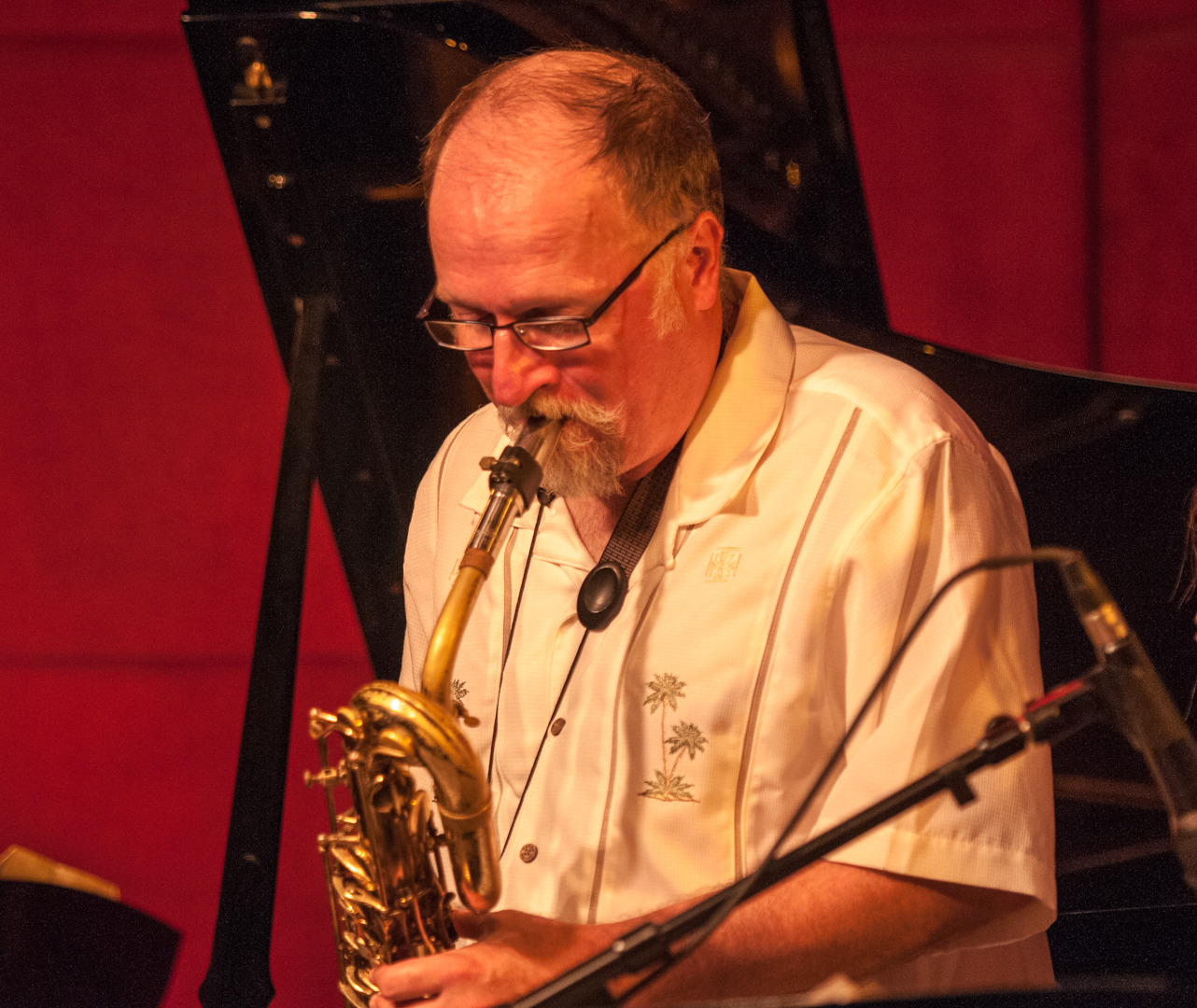 Charlie Kohlhase with the Either/Orchestra at the Jazz Standard