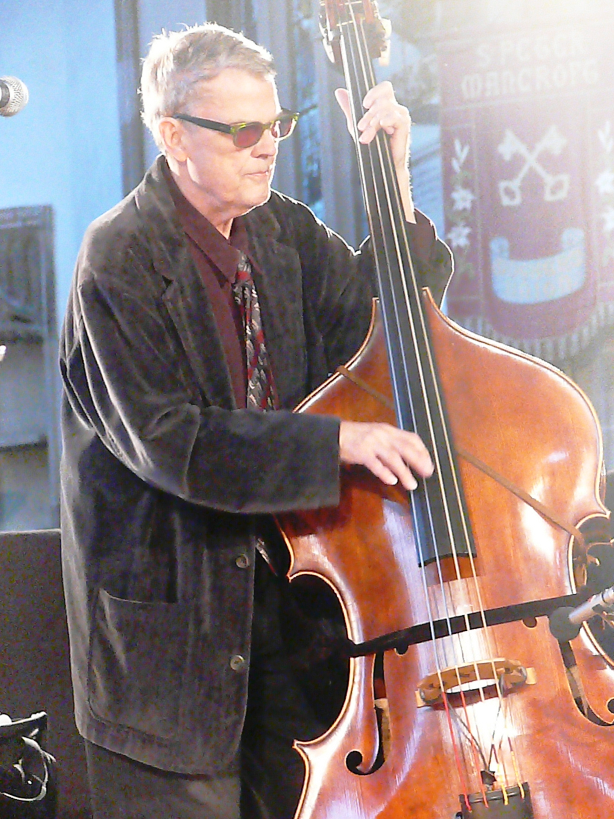 Charlie Haden at St Peter Mancroft, Norwich in May 2011