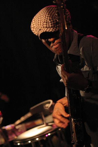 "Meshell Ndegeocello with ""Meshell Ndegeocello Presents the Spirit Jamia"" at Cully Jazz Festival, Switzerland, 2005"