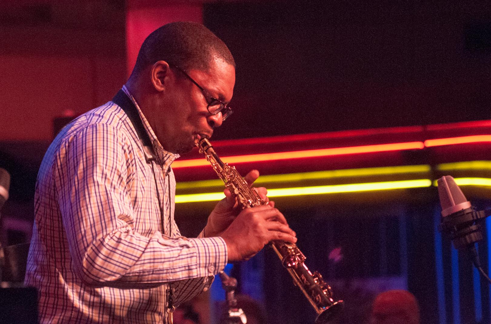 Ravi Coltrane with Quartet at Birdland Jazz Club in Nyc