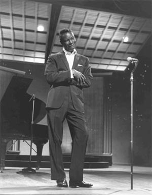 Nat King Cole, 1960, London Palladium.
