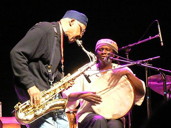 Fred Anderson and Hamid Drake, Paris, France, February 1st, 2008