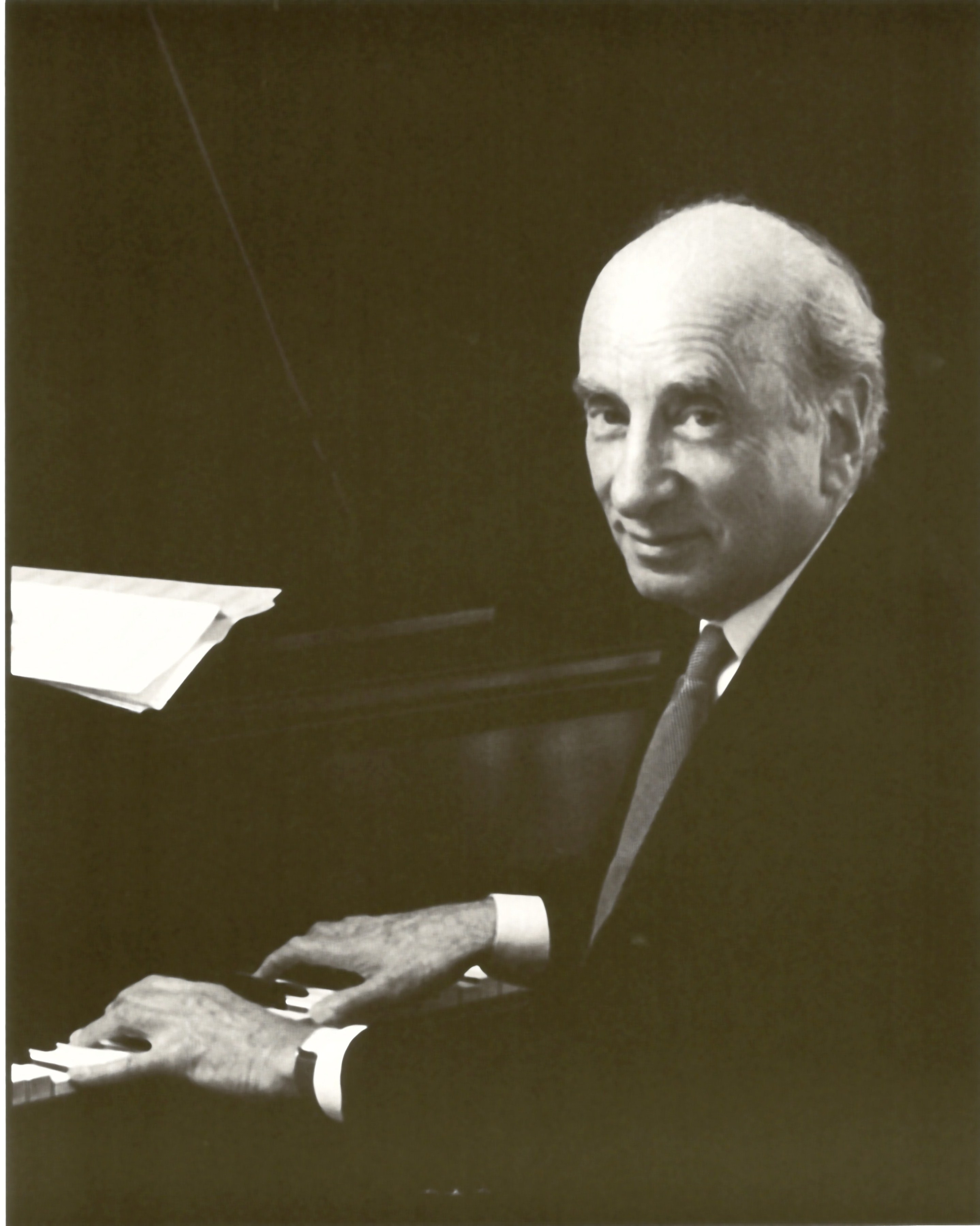 Dick Hyman at the piano