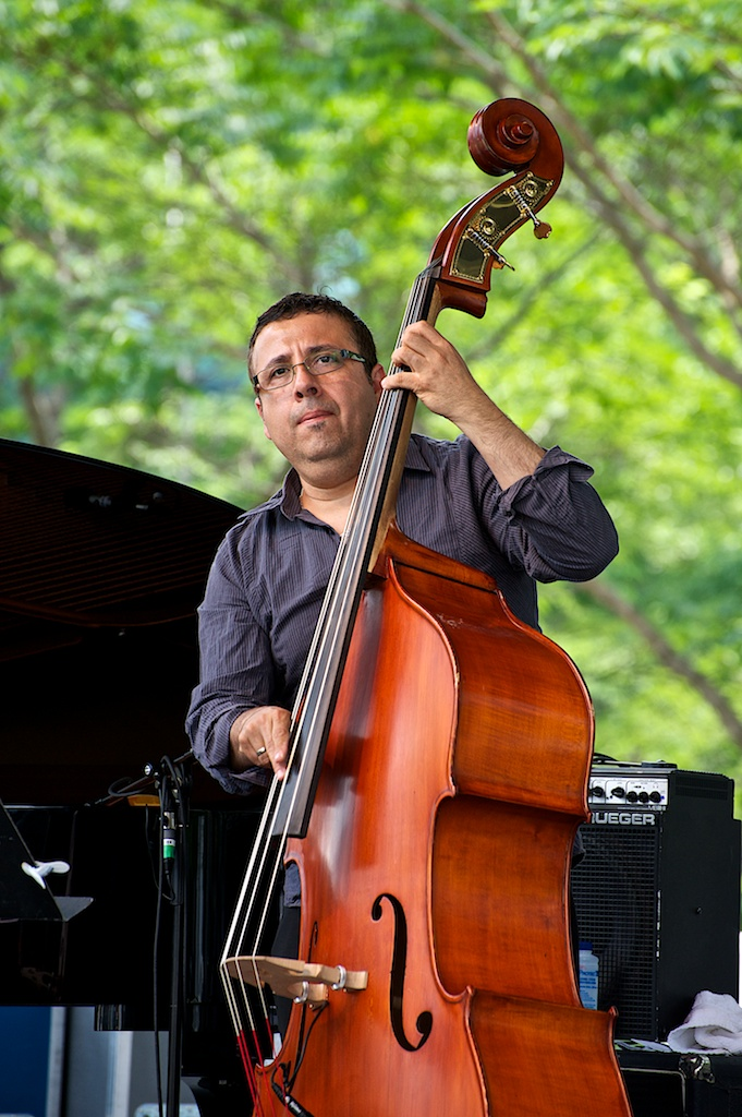 Paco Luviano with the Alexander Brown Quintet