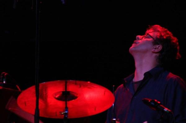 "Matt Wilson with ""Dewey Redman Quartet"" at Amr Jazz Festival, Alhambra, Geneva, Switzerland, 2004"