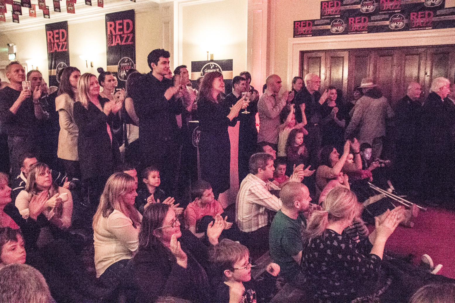 Cork jazz festival concert audience at the metropole hotel