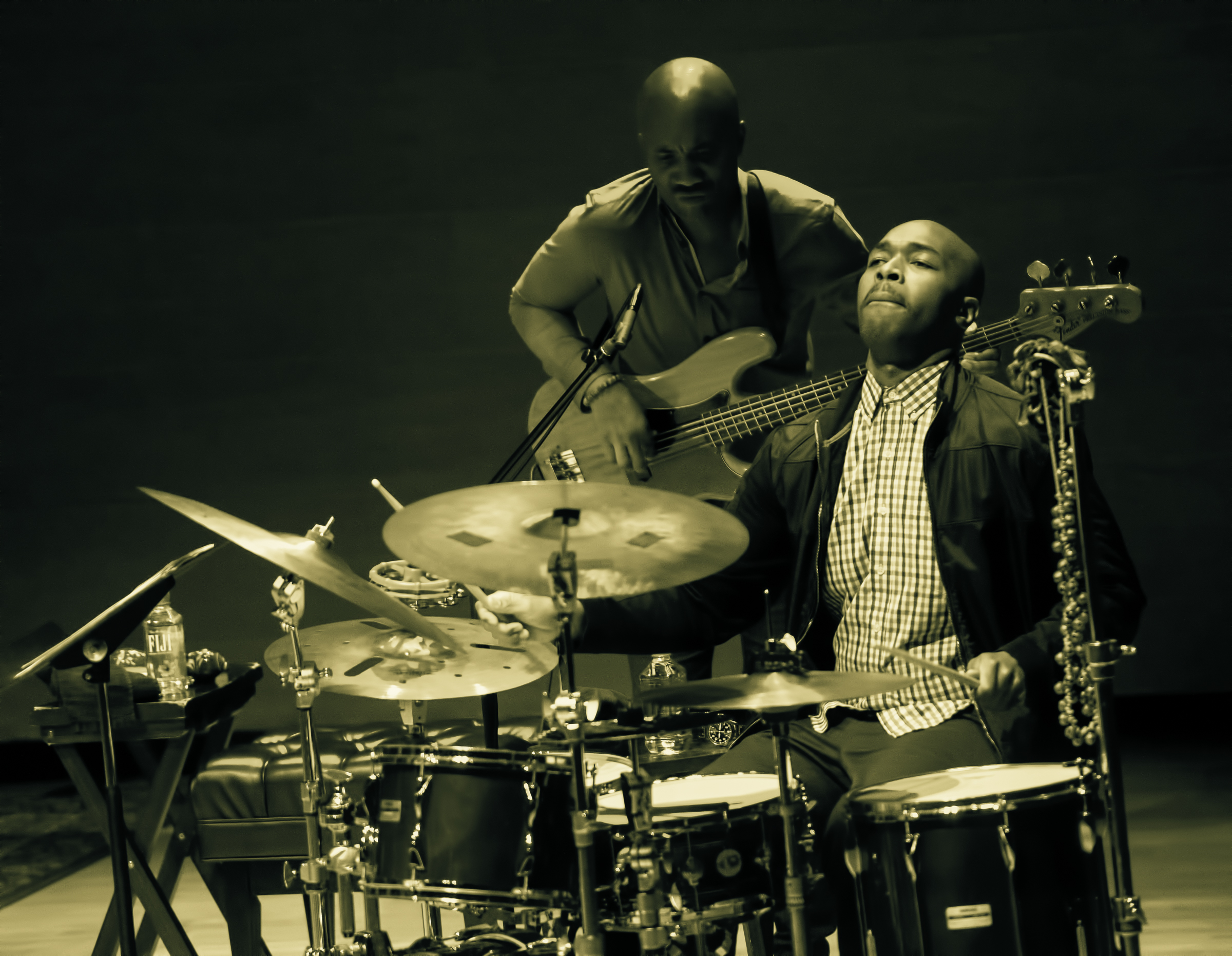 Reuben Rogers and Eric Harland with Charles Lloyd Quartet at the Musical Instrument Museum (MIM) Phoenix