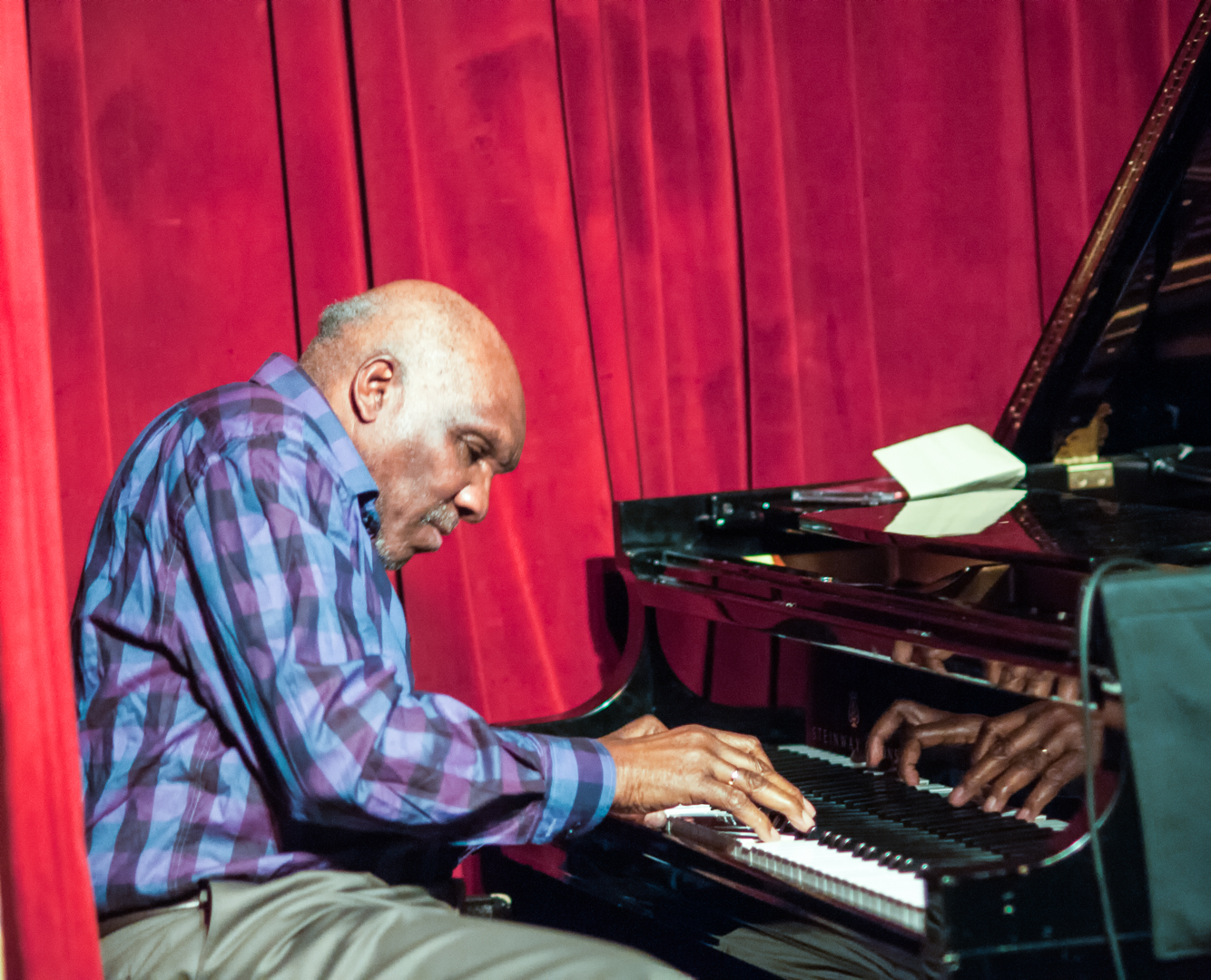 Harold Mabern with the Mabern Alexander Quartet at the John at the John Coltrane Festival at Smoke Jazz Club