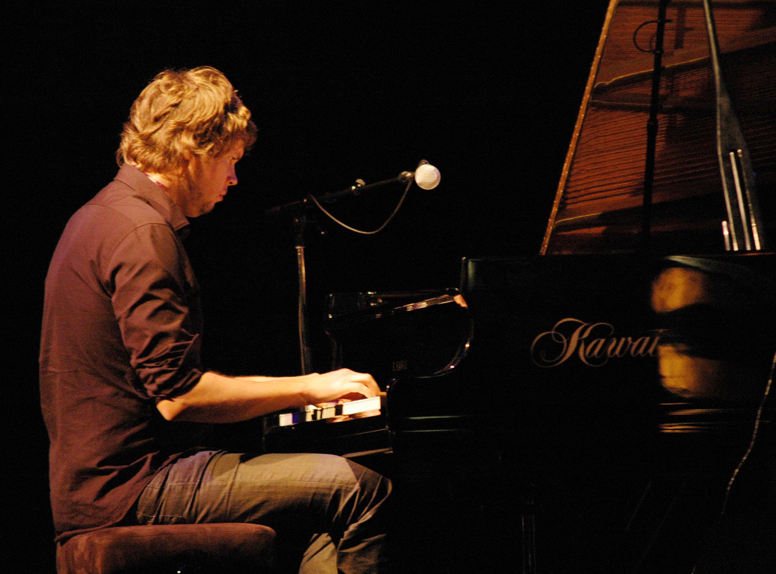 Samuli Mikkonen at 2010 Tampere Jazz Happening