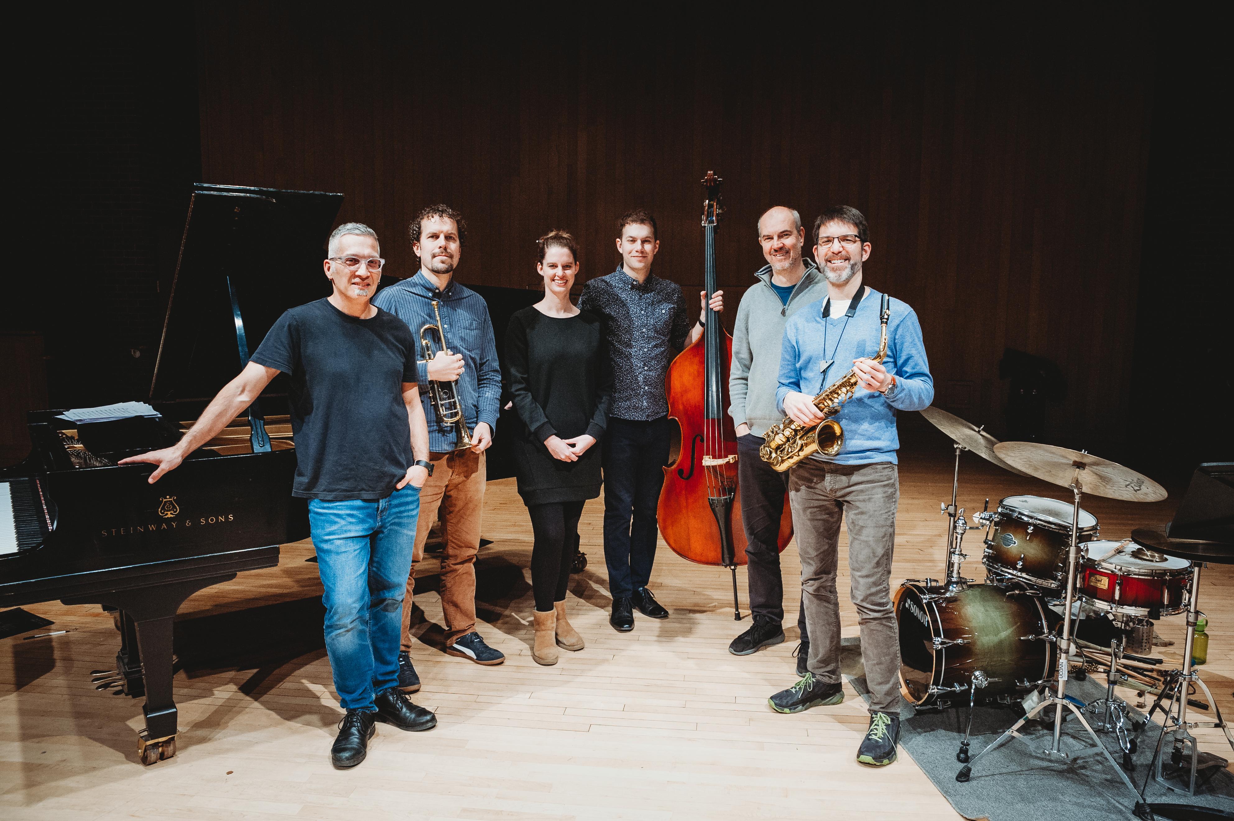Earl MacDonald Ensemble - group photo