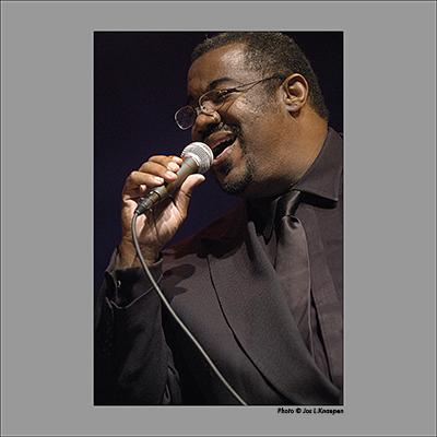 Kevin Mahogany, North Sea Jazz, the Hague, Holland, July 2003