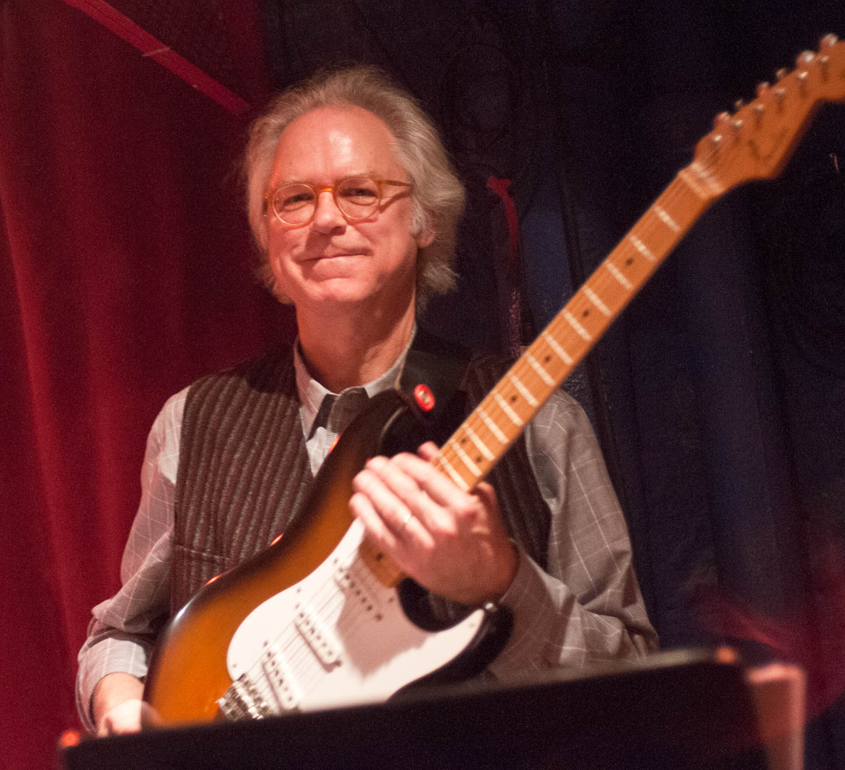 Bill Frisell with the Kermit Driscoll Quartet at the Cornelia Street Cafe