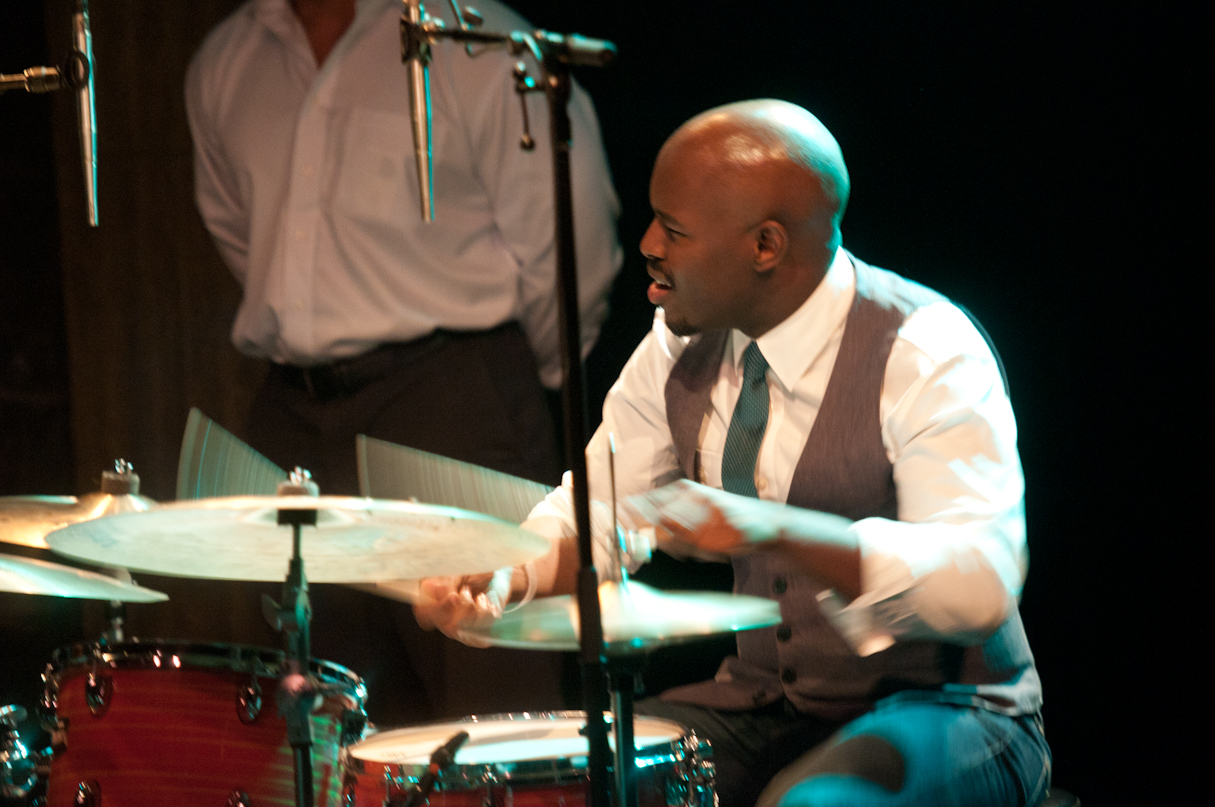 Ulysses Owens with Christian McBride and Inside Straight at the Montreal International Jazz Festival 2011