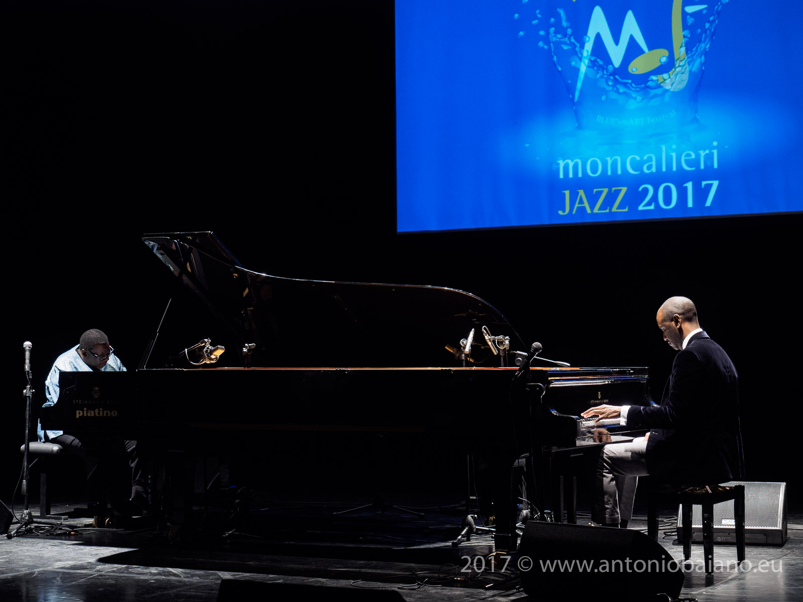 Cyrus Chestnut and Danny Grissett - 4 by Monk by 4, Moncalieri Jazz Festival
