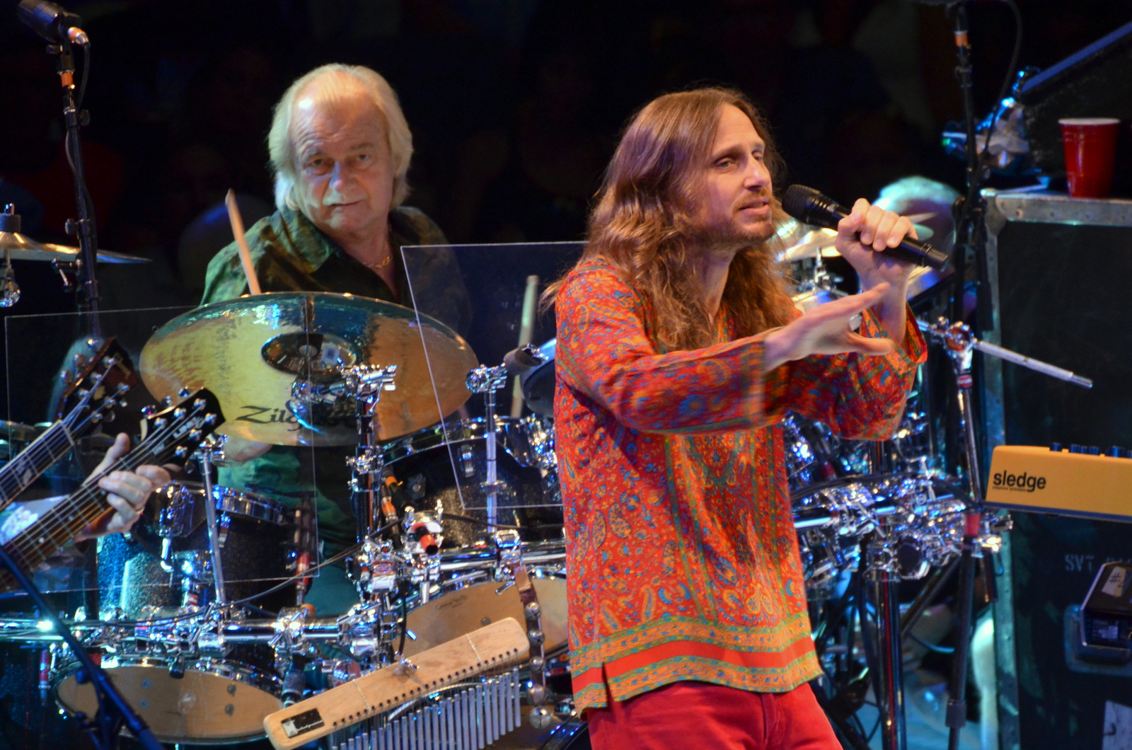 Yes at Nycb Theatre at Westbury on July 12, 2014.