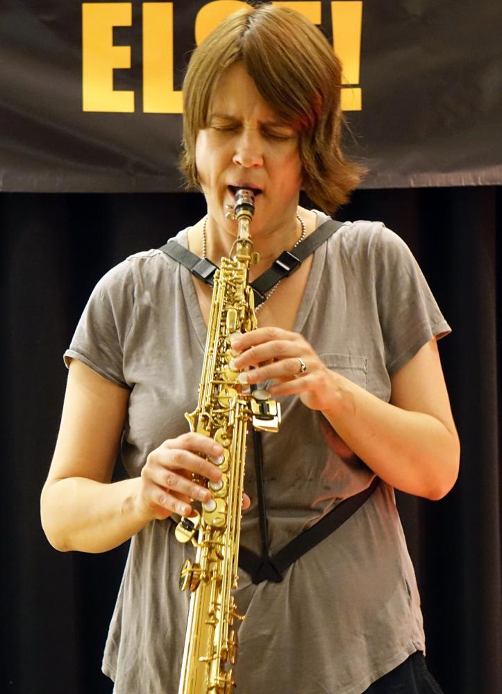 Ingrid Laubrock at Something Else! Festival