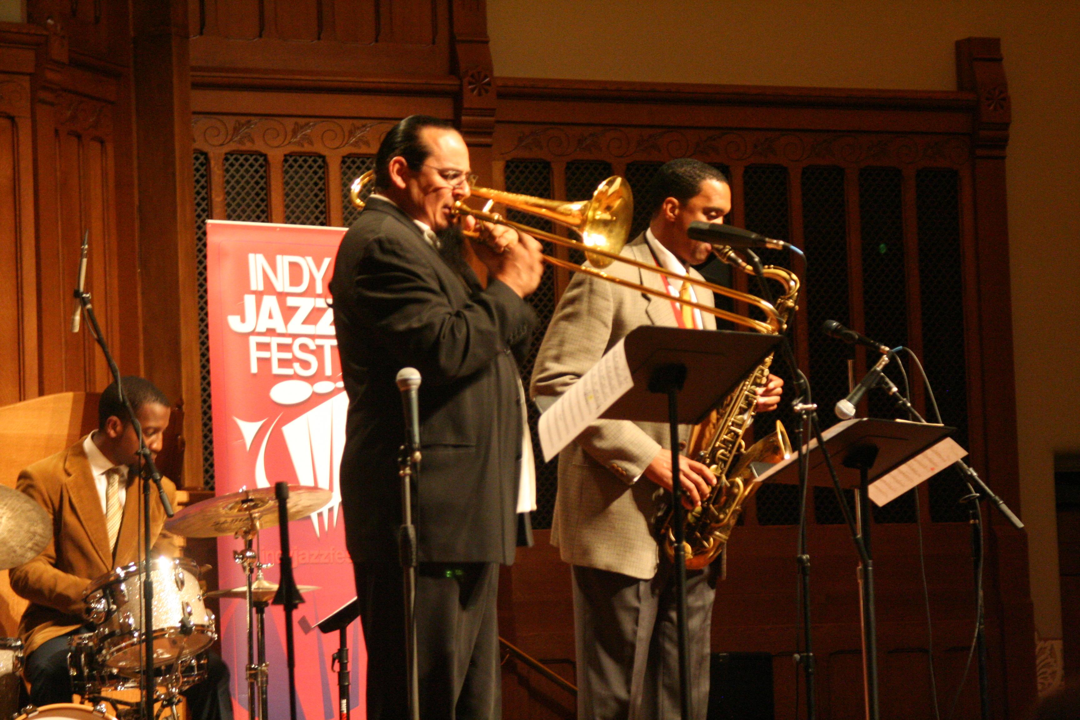 Steve Turre @ 2014 Indy Jazzfest