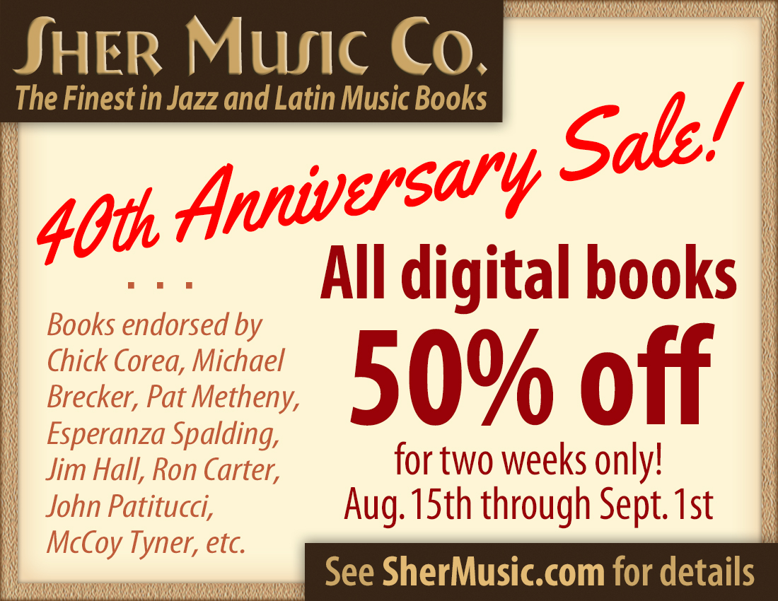 Sher Music Co. 40th Anniversary Sale