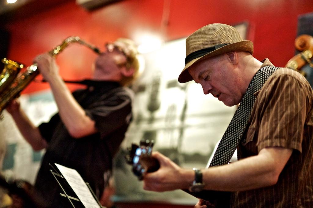 Richard Underhill and Eric St. Laurent - The Pilot - Yorkville - Toronto