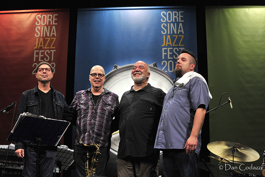 Peter Erskine and the DR.UM Band, Soresina Jazz Fest 2018