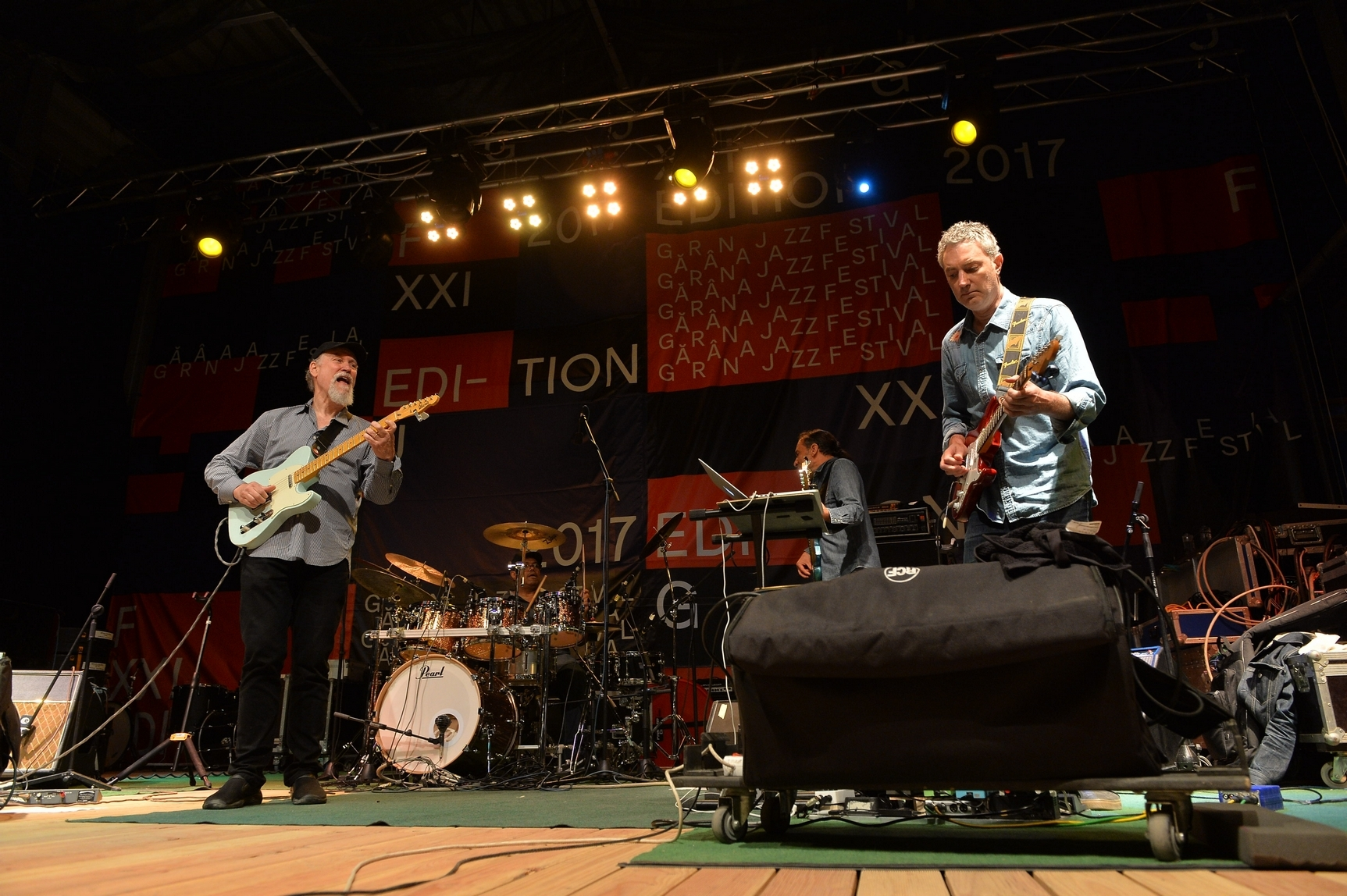 John Scofield Uberjam Band at Garana Jazz Festival 2017