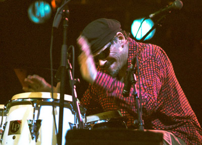 Jerry Gonzalez, Brecon 2004 Images of Jazz