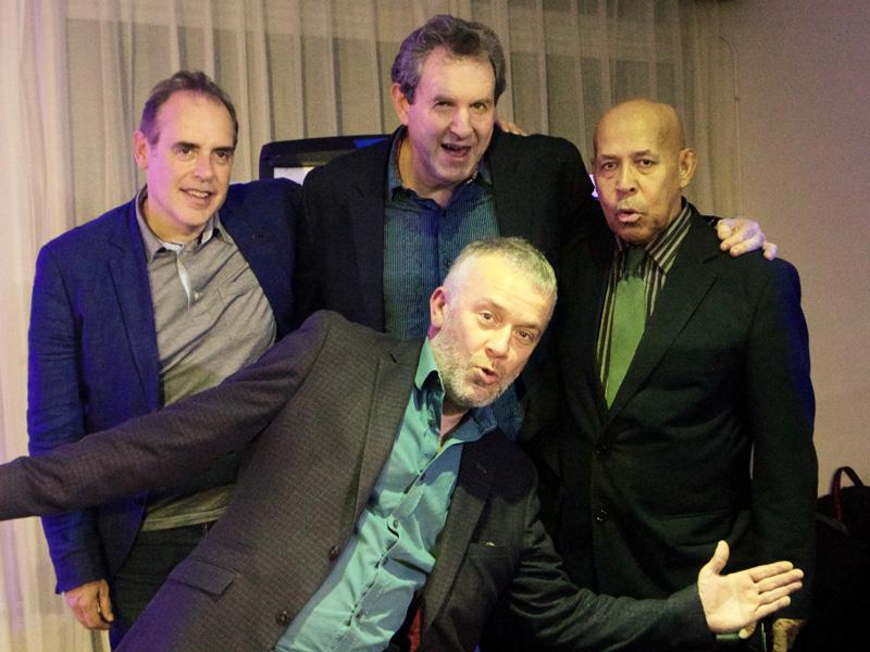 Eddie Henderson with the Bruce Barth Trio