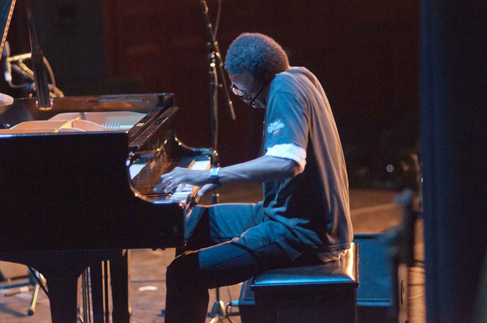 Matthew Shipp in Duo with Evan Parker at the Vision Festival 2011