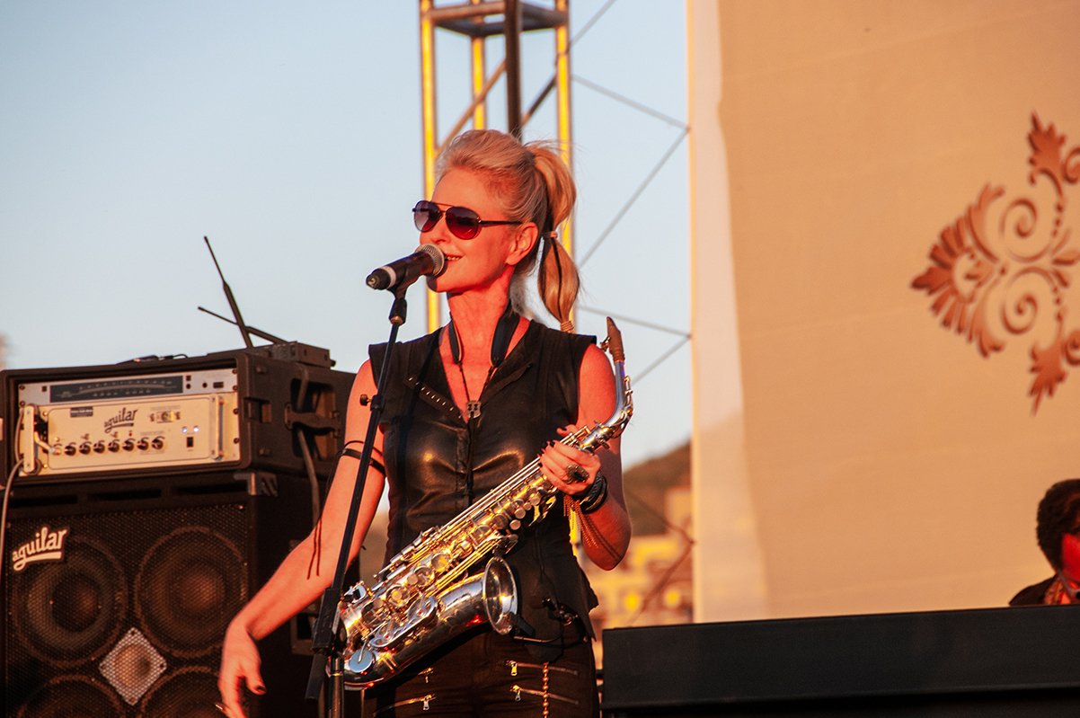 Saxophonist Mindi Abair-The Fire Cracker at Life Luxe Jazz
