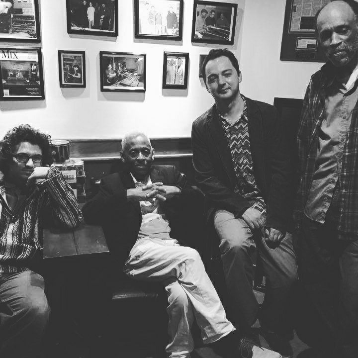Leo Genovese, Juini Booth, George Spanos and Daniel Carter at EastSide Sound Studios in Lower East Side, NYC. June 7, 2017