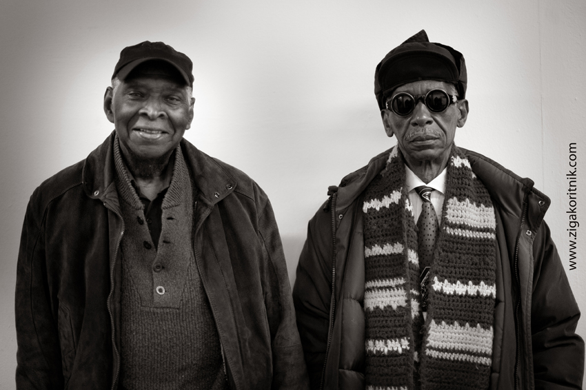 Muhal Richard Abrams and Roscoe Mitchell