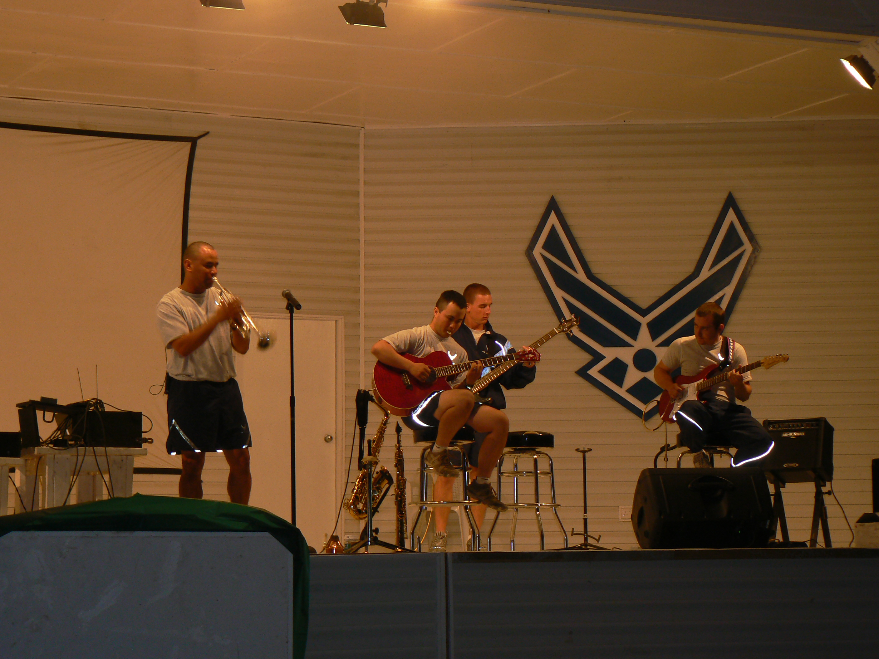 Live Concert Performance in Iraq