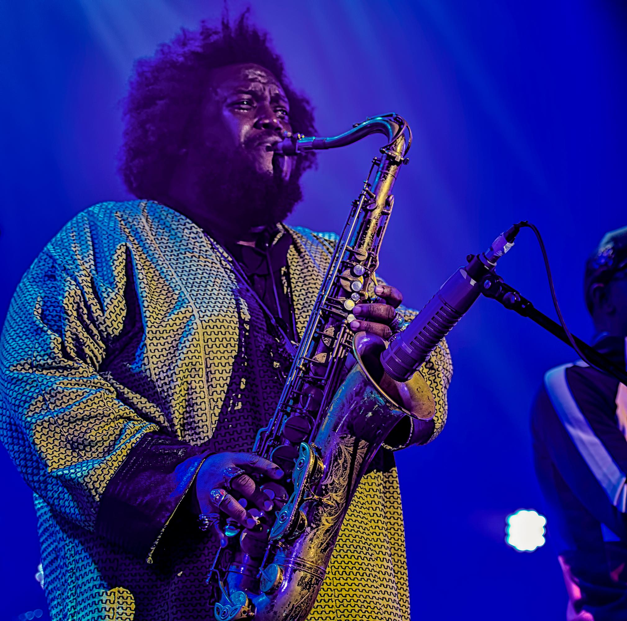 Kamasi Washington at the Montreal International Jazz Festival 2018