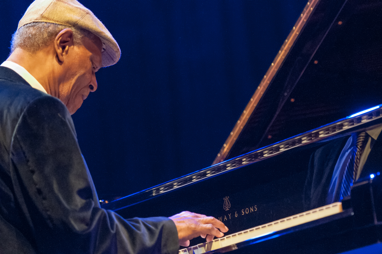 McCoy Tyner at Jazz for Obama at Symphony Space