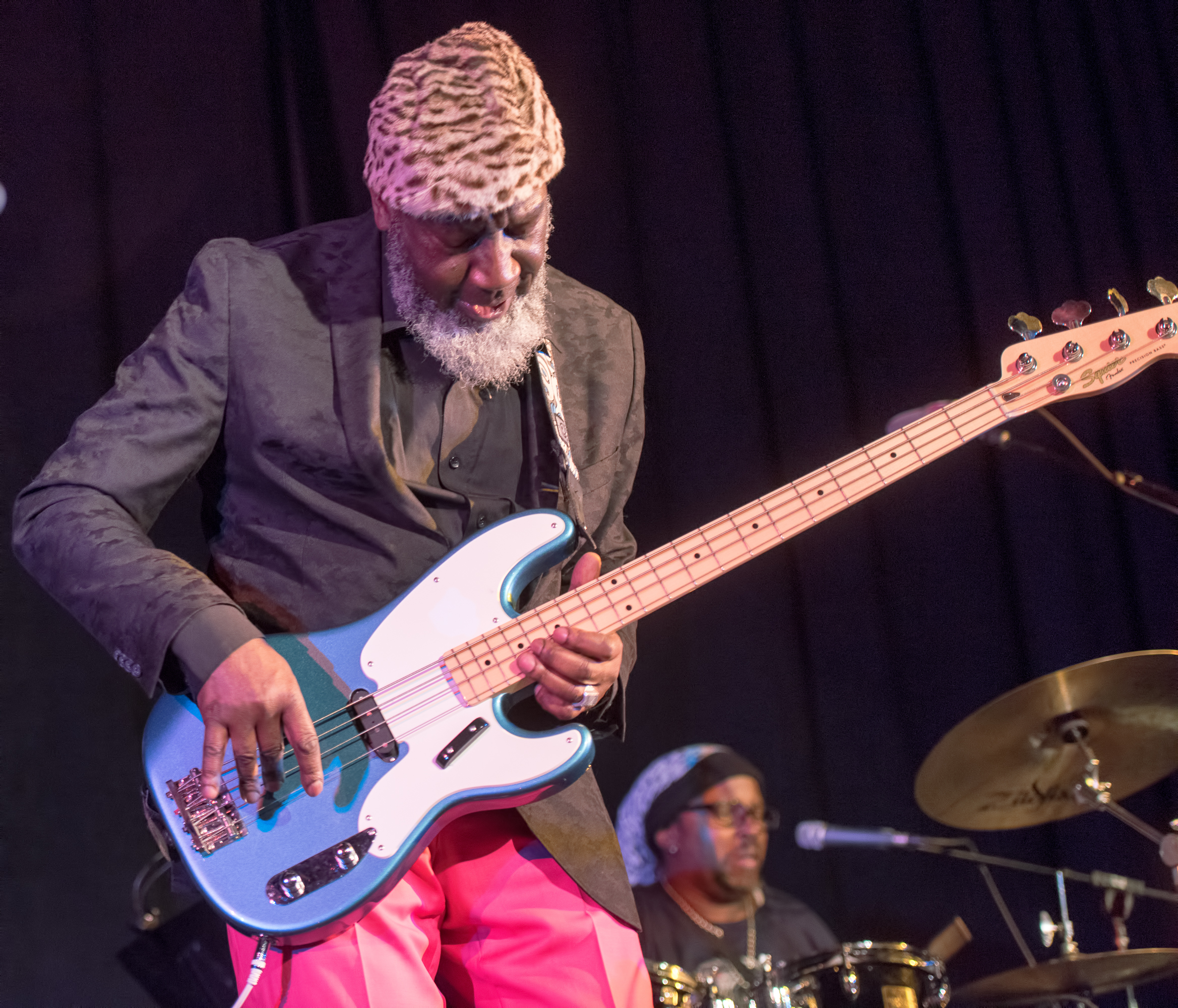 Jamaaladeen Tacuma With Marc Ribot And The Young Philadelphians At The Nyc Winter Jazzfest 2015