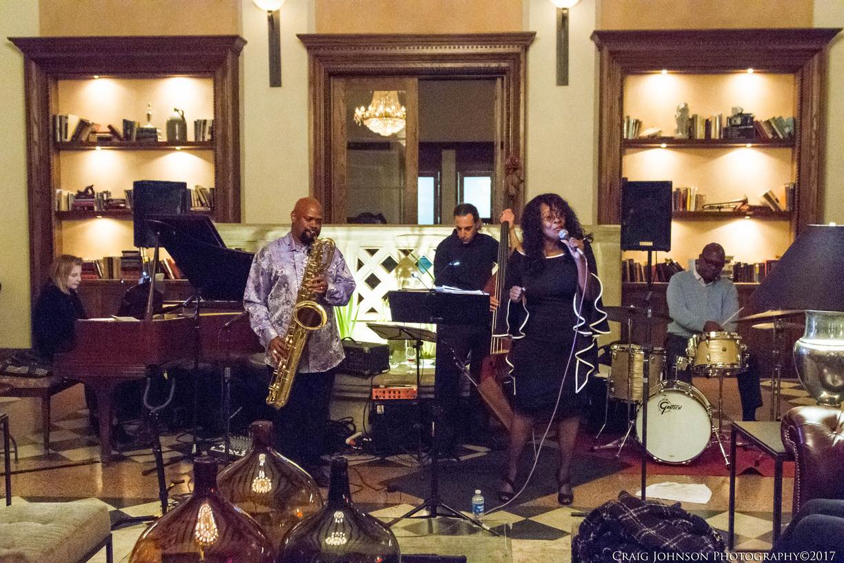 Dale Fielder Quartet with Rita Edmond @ Hotel Normandie