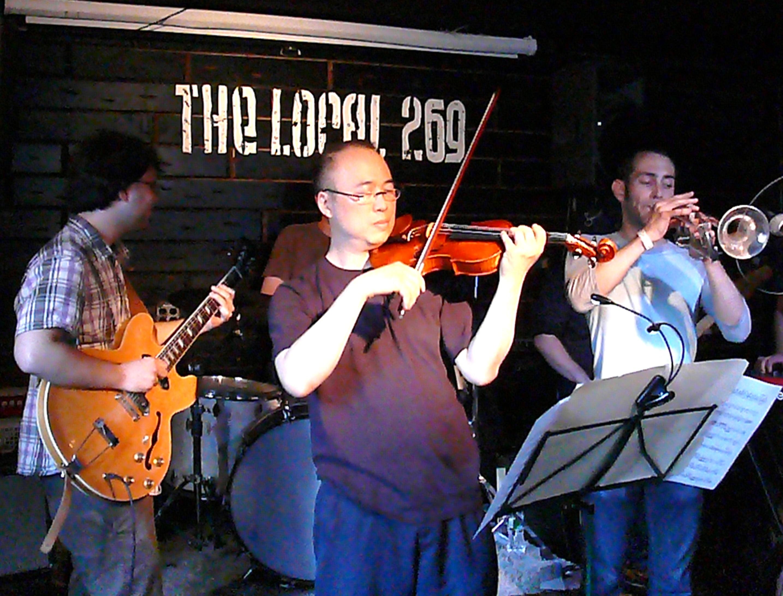 Jason Kao Hwang with Brad Farberman Sextet at Vision Festival 2010