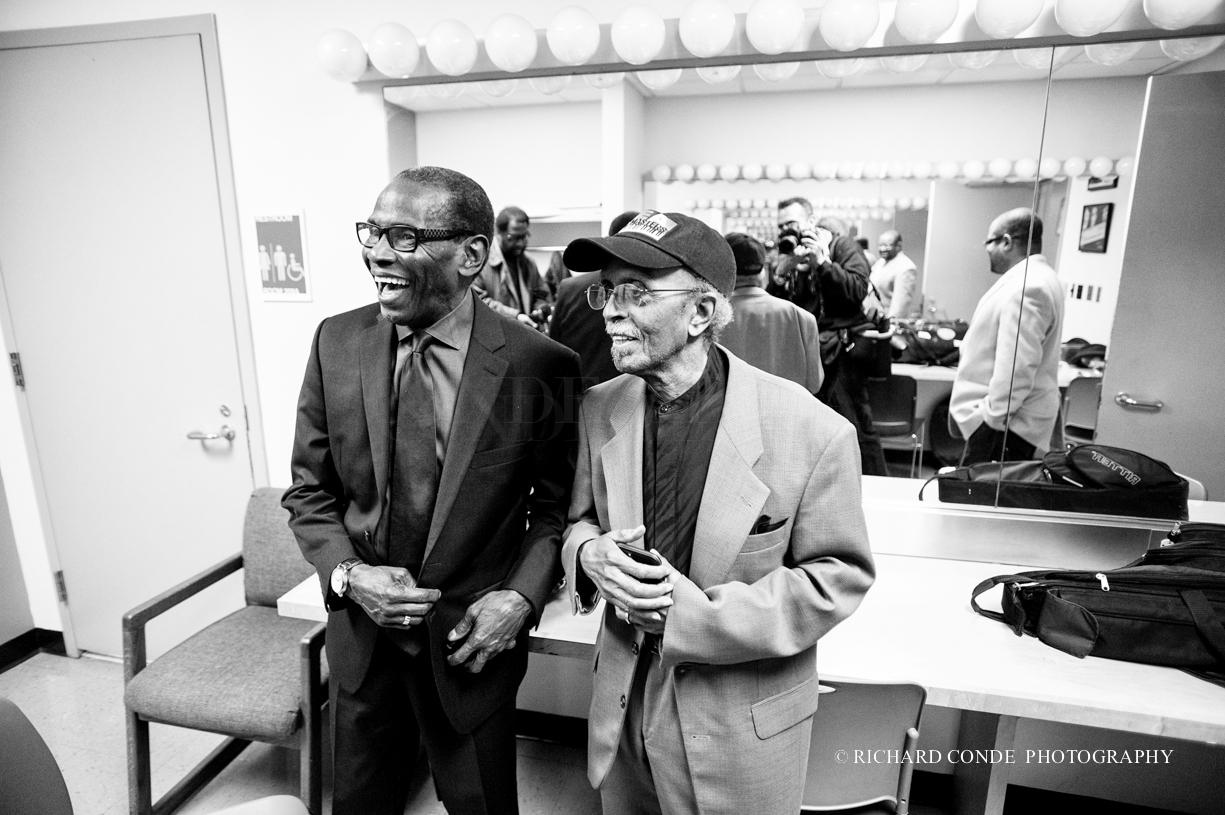 George Cables and Jimmy Heath at the 2015 Giants of Jazz Festival
