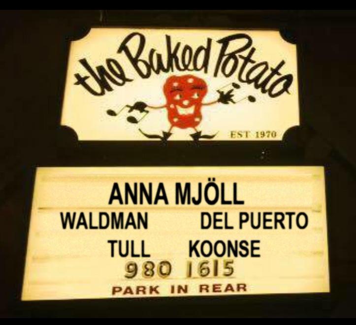 Anna Mjoll Jazz at the Baked Potato