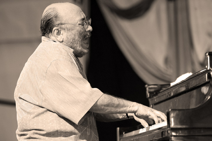 Eddie Palmieri at the New Orleans Jazz and Heritage Festival 2006