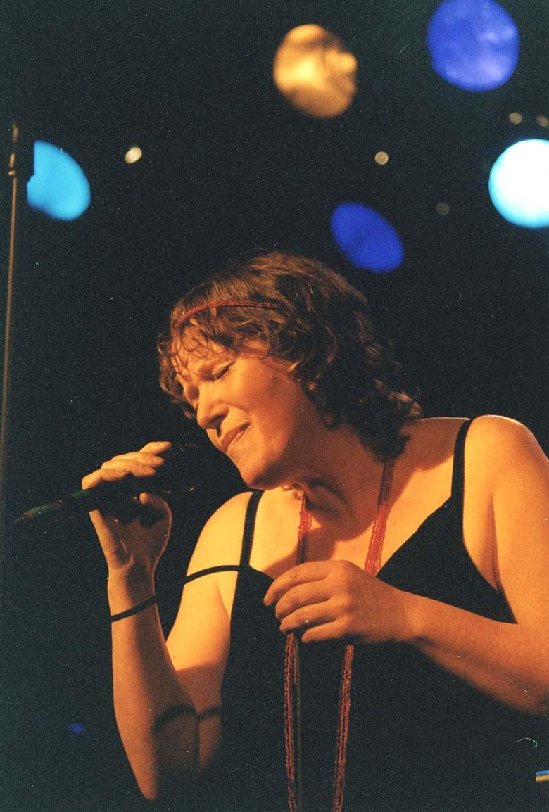 Dorothy Murphy at Dolans Warehouse, Limerick, Nov. 2005