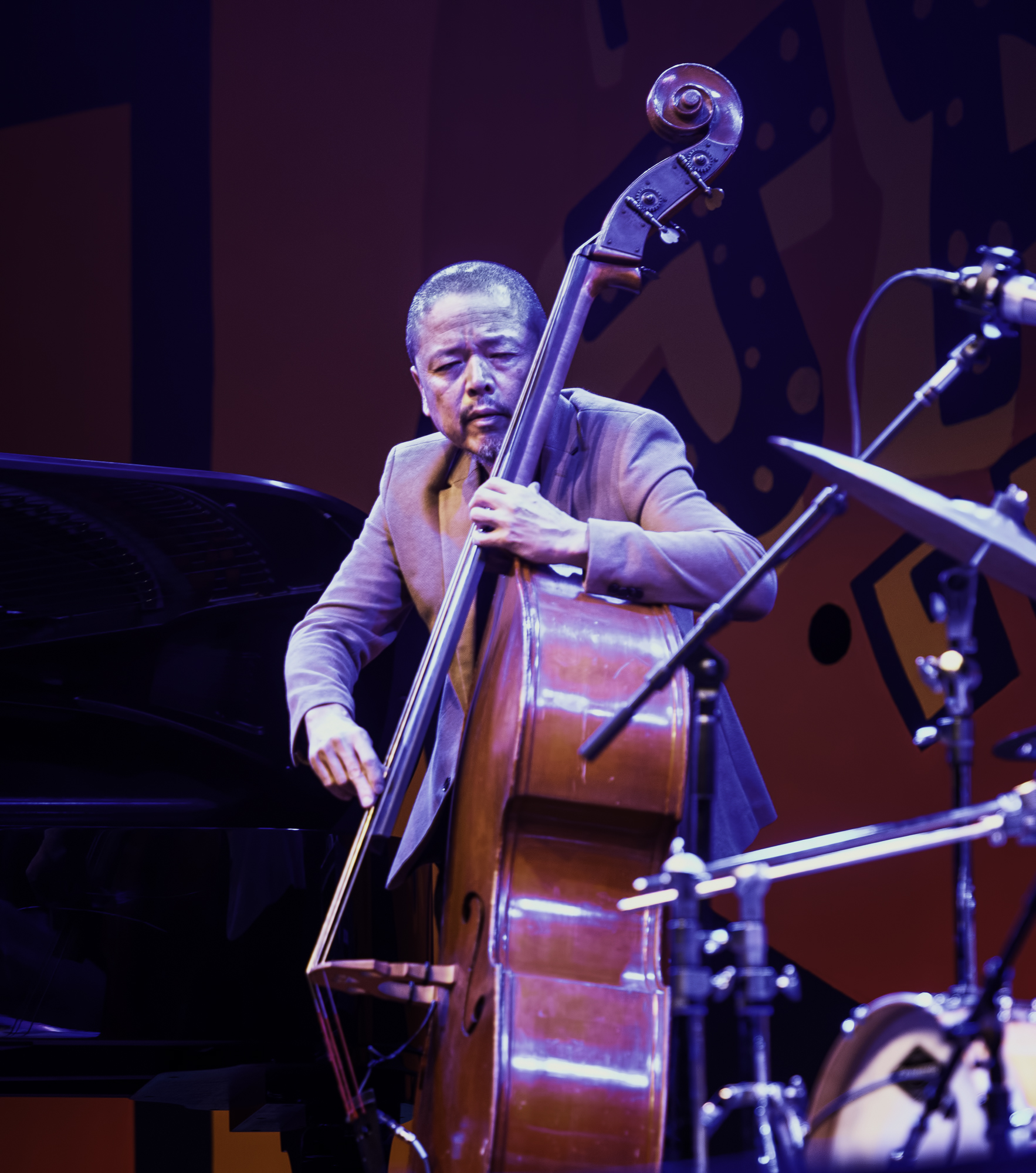 Kiyoshi Kitawa with Kenny Baron's Tribute to Dizzy at 100 at the Monterey Jazz Festival