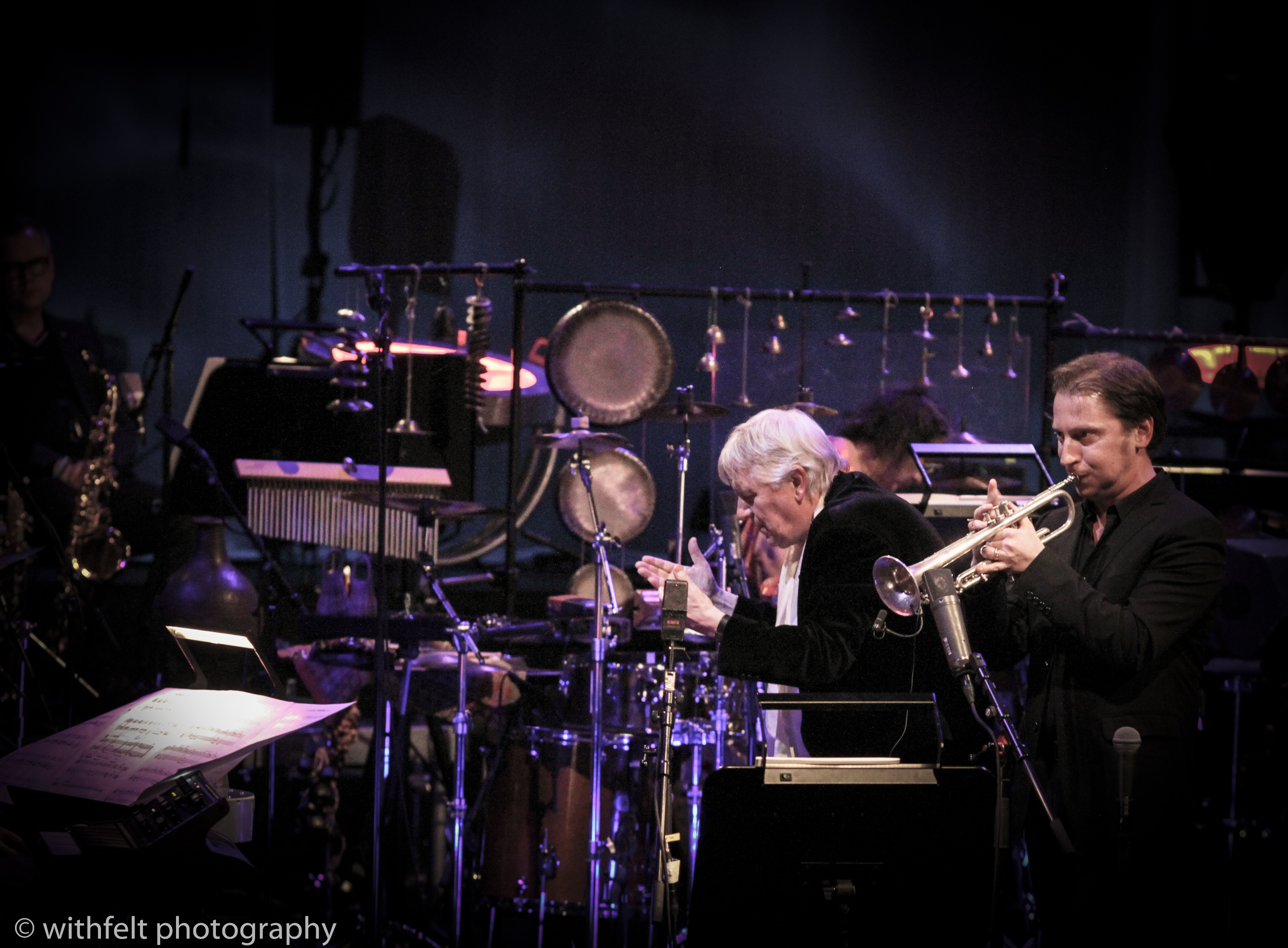 The Mind Behind --- Palle Mikkelborg 75 with Gerard Presencer from DR Big Band