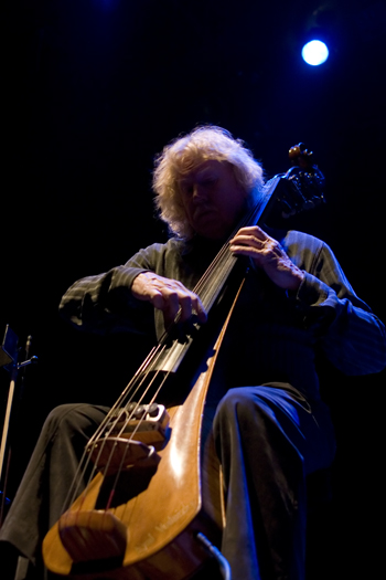 Eberhard Weber of Weber-Rava-Weber Trio - Gdansk in Feb. 2007